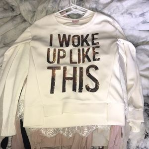 Juicy couture I Woke Up Like This pullover